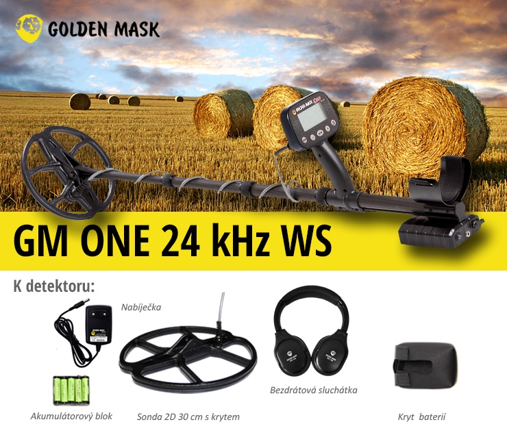 Nové detektory Golden Mask One 15 kHz a 24 kHz
