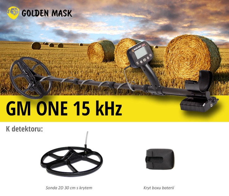 Detektor kovů Golden Mask GM ONE 15 kHz