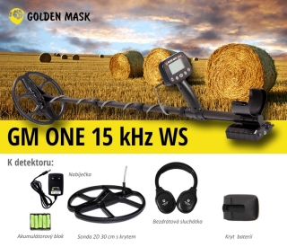 Detektor kovů Golden Mask GM One 15 kHz WS
