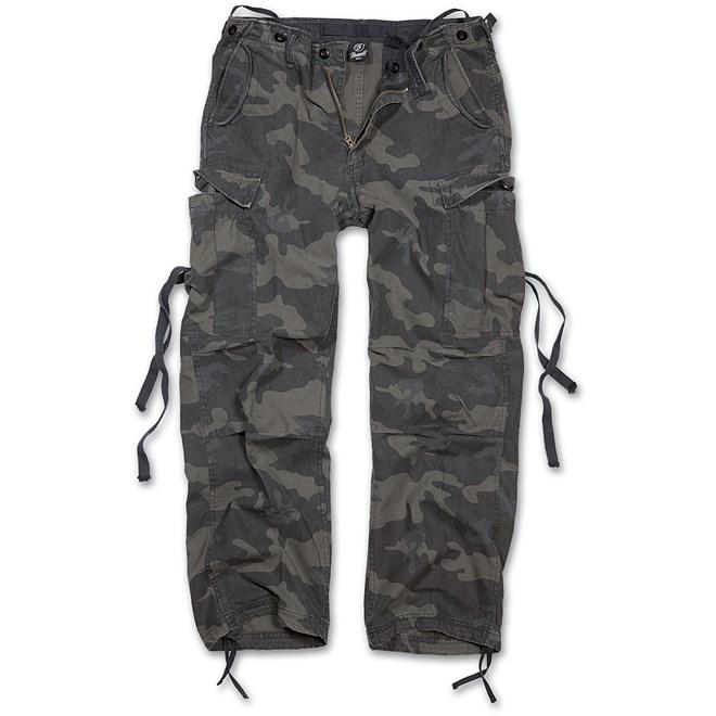 kalhoty brandit darkcamo, detektory kovů Zipsy